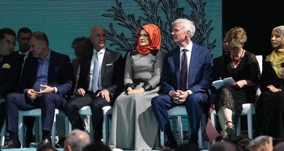 Безос посетил мероприятие в память о Хашкаджи
