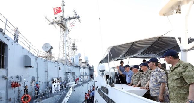 Turkey won't allow fait accompli in Cyprus, East Med, Aegean, Defense Minister Akar says