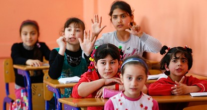 pTurkey, the European Union and UNICEF have formally launched an EU-funded project aiming to encourage Syrians and other refugees in Turkey to enroll their children in schools and prevent them from...