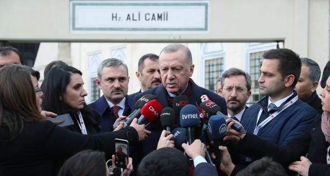 أردوغان: حفتر لا يوثق به واستشهاد جنودنا في نبع السلام لن يبقى دون رد