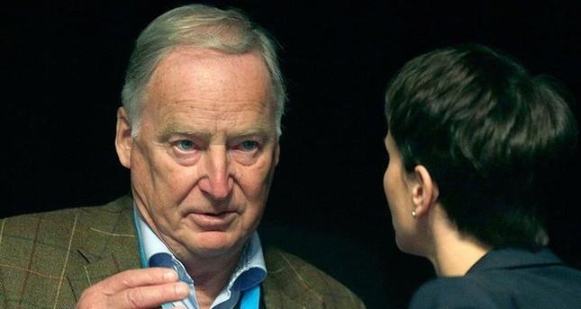 مرشح حزب البديل من أجل ألمانيا لمنصب المستشار ألكسند غاولاند (الأناضول)