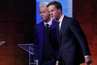 Poor performance for Wilders as Rutte on track to win Dutch elections, exit polls suggest
