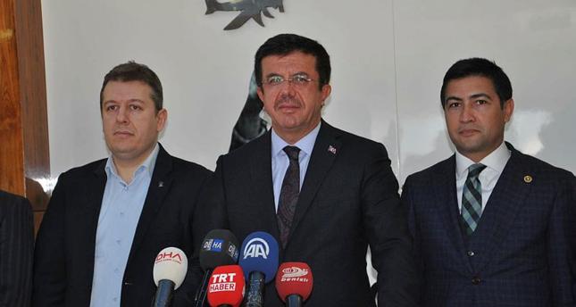وزير الاقتصاد التركي يغادر إلى ألمانيا للمشاركة في فاعلية للجالية التركية