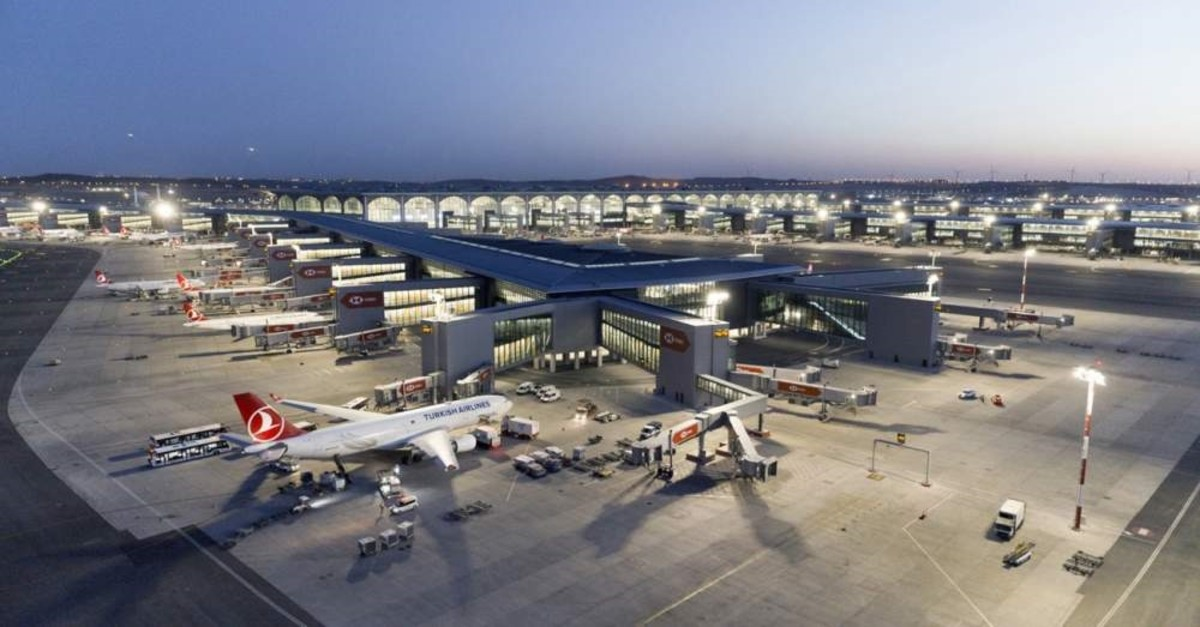 In this undated file photo, Turkish Airlines planes are seen at Istanbul Airport.