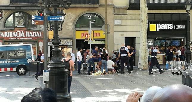 13 killed, 100 injured in Daesh attack in Barcelona