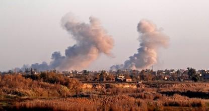 التحالف الدولي يقصف مسجداً ثانياً في دير الزور