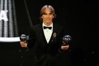 Luka Modric wins FIFA's player of the year award