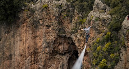 pFor the fifth year in a row now, hundreds of international slackliners, rock climbers and extreme sports enthusiasts will be coming out to convene in Antalya's Geyikbayırı for this year's Turkish...