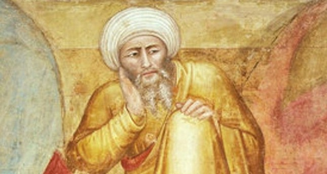 A portrait of Ibn Rushd, also known as Averroes, who was the most distinguished scholar of the Golden age of Islam.