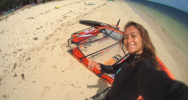 Meet Lena Erdil: Turkey's windsurfing champ