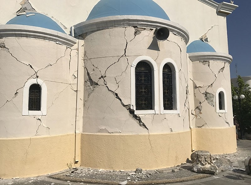 Magnitude 6.3 quake causes damage in Greek island of Kos