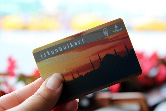 3. Istanbul Card: Getting around Istanbul