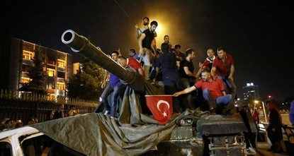 Sides of the failed July 15 coup attempt