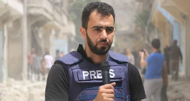 المراسل الحربي السوري هادي العبد الله يفوز بجائزة مراسلون بلا حدود