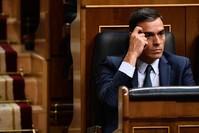 رئيس الحكومة الإسبانية المؤقت بيدرو سانشيز