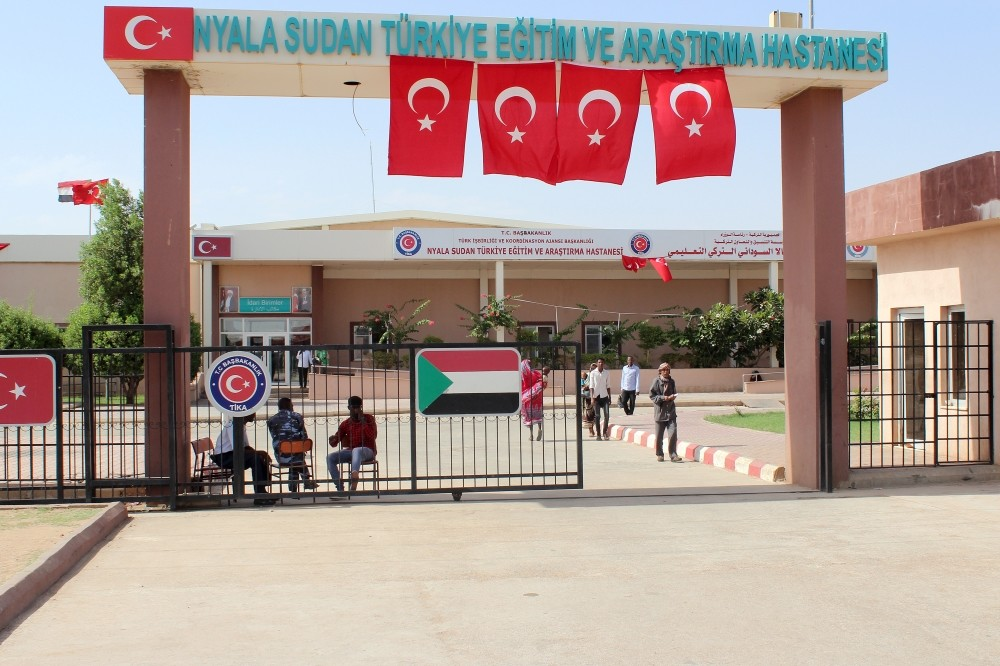 The hospital in South Sudanu2019s Nyala treats about 120,000 patients every year. Turkeyu2019s Tu0130KA also offers training for healthcare personnel across the world, including doctors and nurses in Kyrgyzstan.