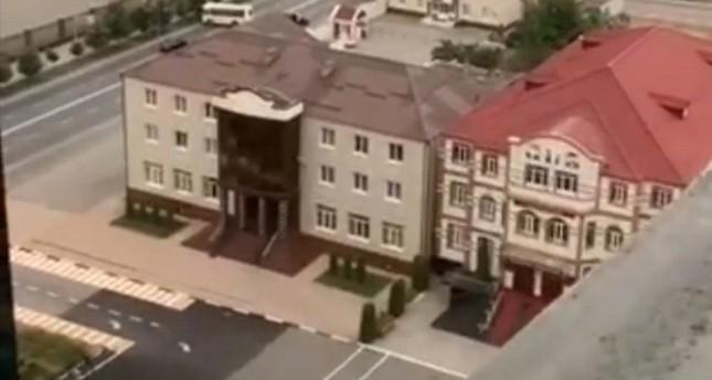 منظر للحي الرئاسي في العاصمة الشيشانية (İHA)