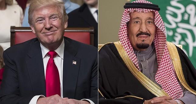 ترامب والملك سلمان يبحثان هاتفياً الأزمة مع قطر