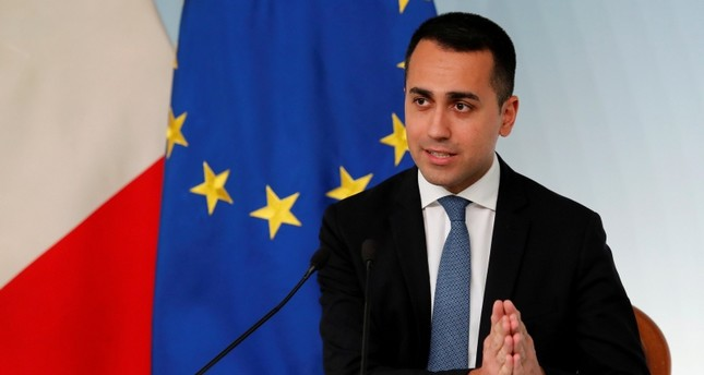Italian Deputy Prime Minister Luigi di Maio holds a news conference in Rome, Italy, March 8, 2019 Reuters Photo