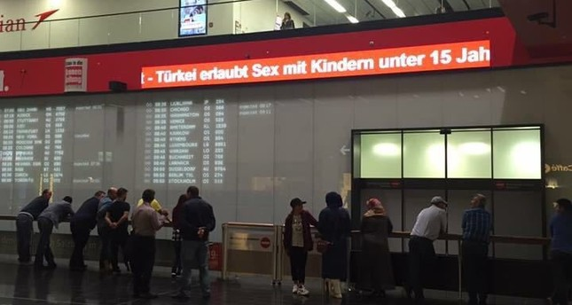 Vienna airport removes anti-Turkey statement after foreign ministry takes action