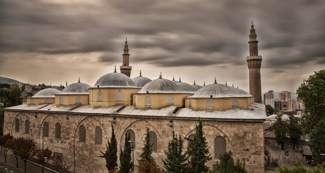 The 14th century Grand Mosque of Bursa is an important landmark in the city.