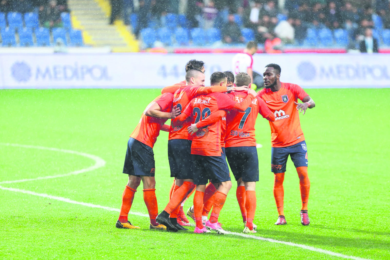 Bau015faku015fehir got the most remarkable win against Galatasaray, thrashing the Istanbul powerhouse 5-1 in week 12.