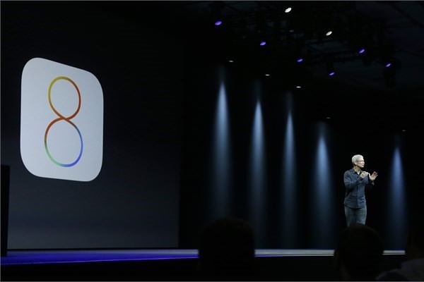 Apple's new ios 8 operating system