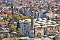Bursa's most prominent landmark: The Grand Mosque