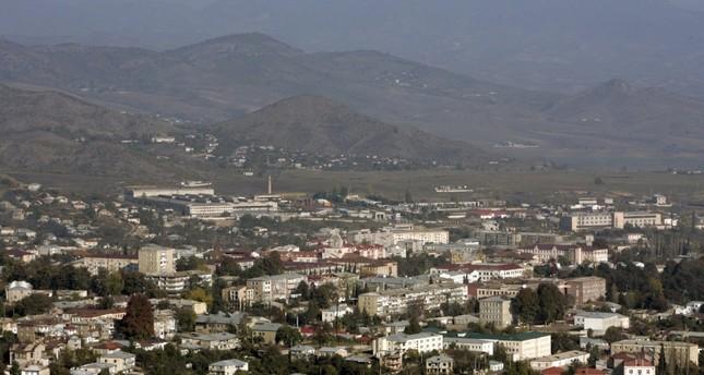 This Oct. 30, 2009 file photo shows general view Nagorno-Karabakh's main city of Khankendi. (Reuters Photo)