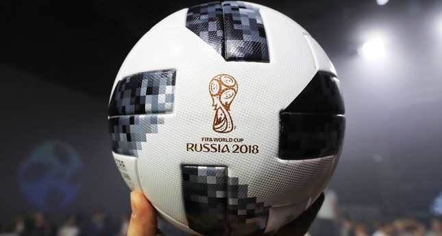 8ded890490a Adidas unveils official match ball for 2018 World Cup in Russia - Daily  Sabah