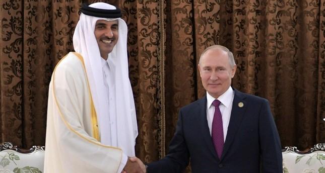 بوتين: علاقتنا بقطر في تطور مستمر وهي شريك هام ومحوري في المنطقة