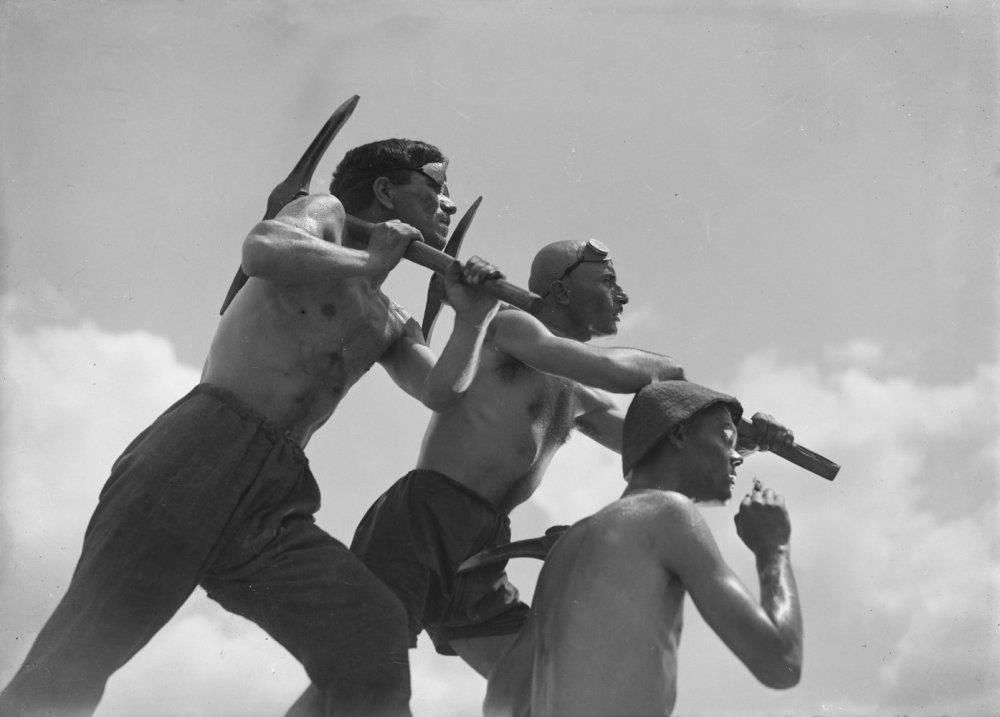 Still from ,Salt for Svanetia, (1930).