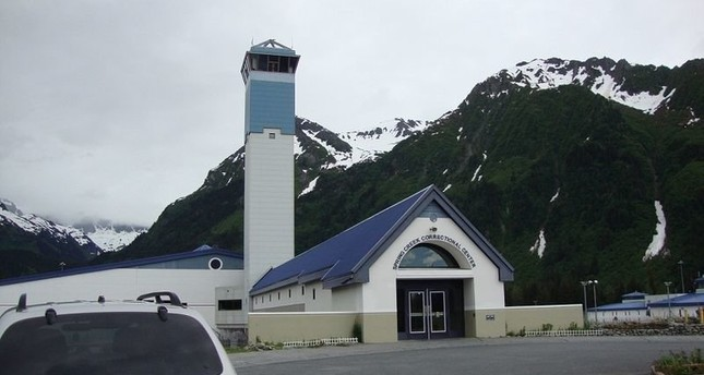 أحد السجون في آلاسكا (عن الانترنت)