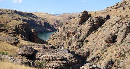 Newly discovered canyon in eastern Turkey awes locals