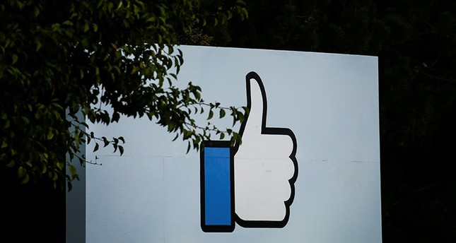 The entrance sign to Facebook headquarters is seen in Menlo Park, California, on Wednesday, Oct. 10, 2018. Reuters Photo