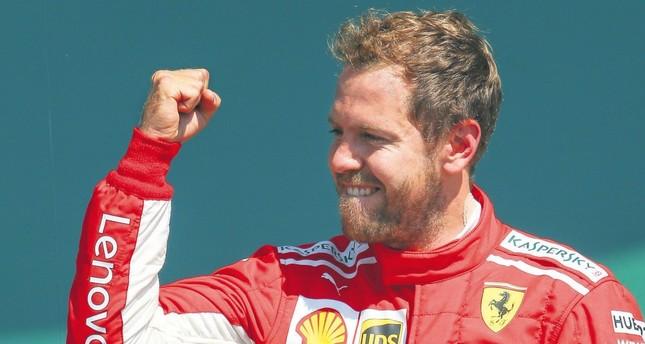 Silverstone success has Vettel and Ferrari roaring in F1 title hunt