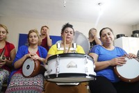 Roma women form band, introduce cultural music to Turkey
