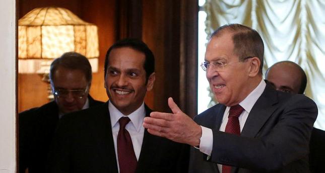 وزير الخارجية القطري: هناك تقدم بشأن فك الحصار عن 65 ألف مدني بسوريا