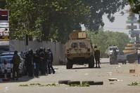 العملية الإرهابية استهدفت السفارة الفرنسية (EPA)