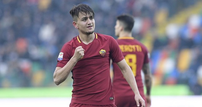 Turkish wonderkid Cengiz Ünder fires Roma to win
