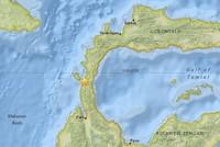 موجات تسونامي تجتاح مدينة إندونيسية إثر زلزال قوي