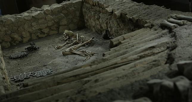 4,500-year-old male skeleton found in northern Turkey