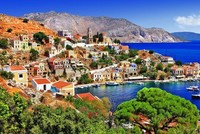 Visiting the neighboring Aegean islands of Greece