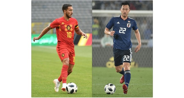 Belgium takes on Japan as Brazil faces Mexico test