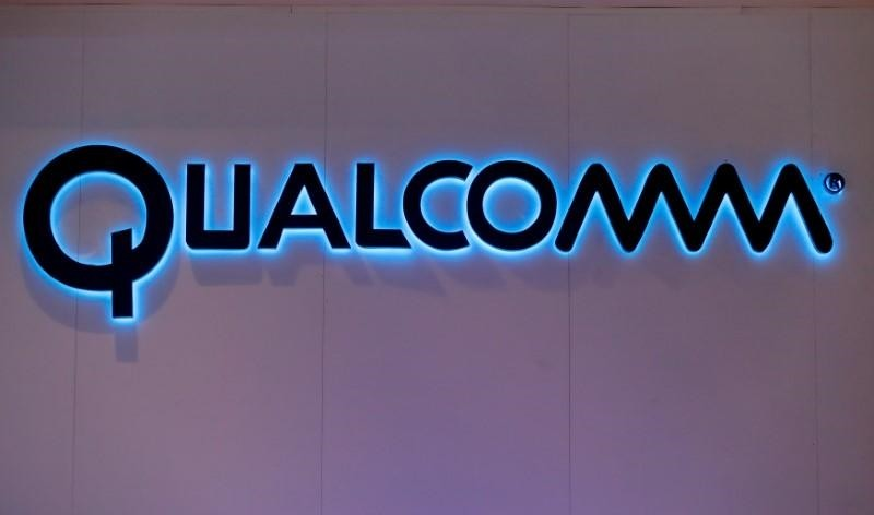 Qualcomm's logo is seen during Mobile World Congress in Barcelona, Spain, February 28, 2017. (REUTERS Photo)