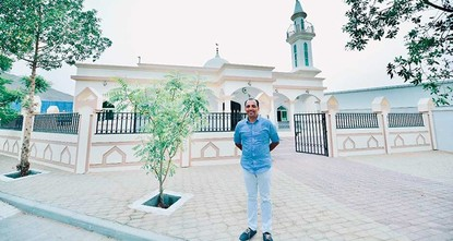 Indian Christian gifts UAE workers a mosque