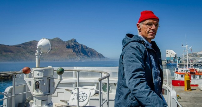 """The Odyssey"" is about ""Captain"" Jacques Cousteau, who became famous for his passion for the oceans and his relationship with his son Philippe."
