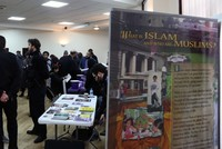 More than 150 mosques in the U.K. opened their doors to visitors Sunday in an annual open house to promote better understanding of Islam and Muslims.