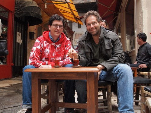 Ansel Mullins(R) and Yigal Schleifer