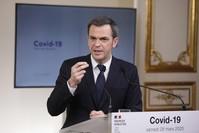 وزير الصحة الفرنسي أوليفييه فيران الفرنسية